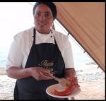 crayfish lunch on beach 2