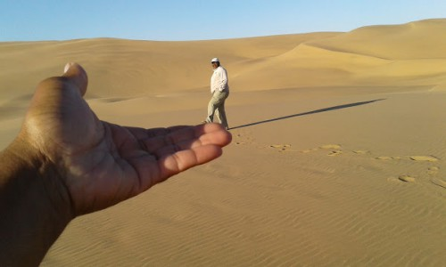 Johnny in the dunes