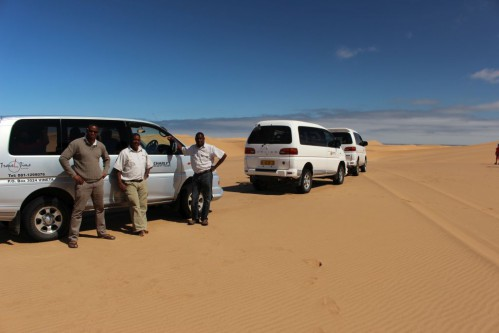 Guides in the dunes