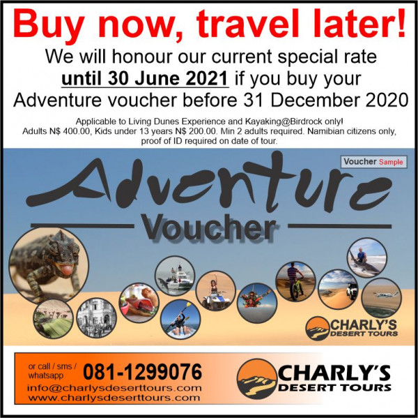 Buy now travel later until December 2020