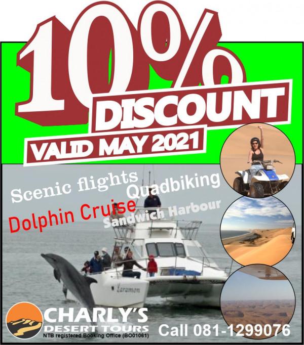 10 discounted activities